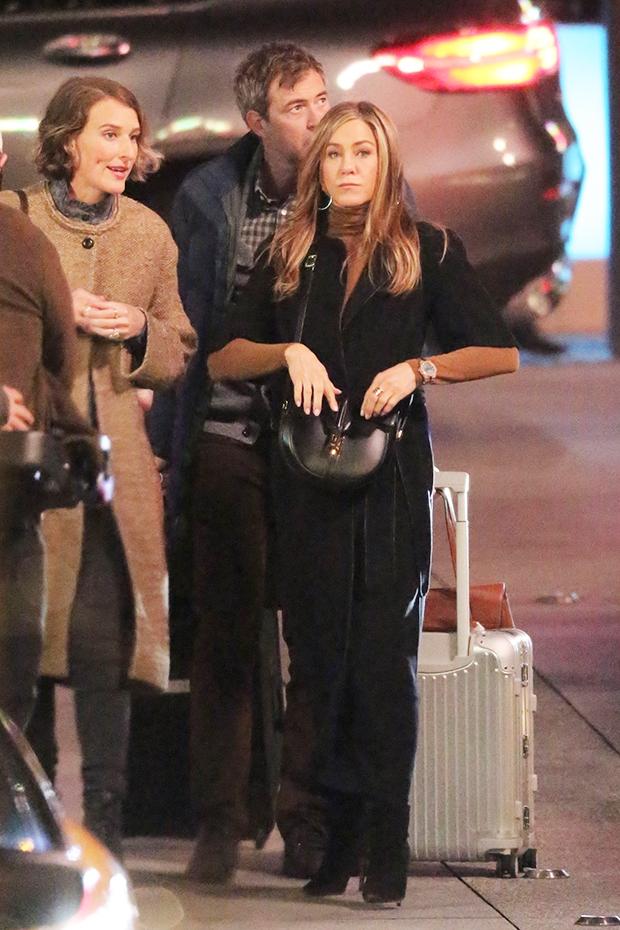 Jennifer Aniston Mark Duplass Hannah Leder
