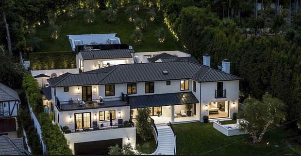 Rihanna Beverly Hills House