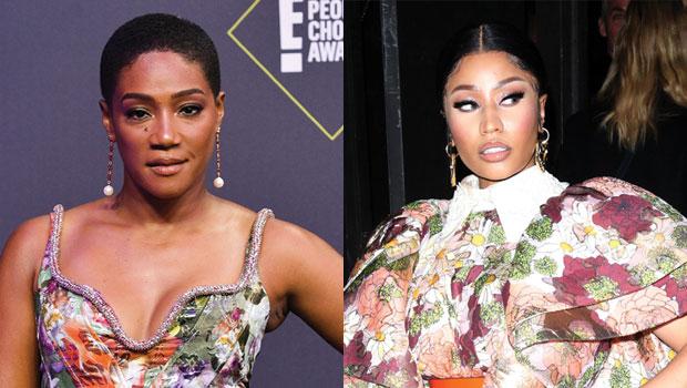 Tiffany Haddish Disses Nicki Minaj For Being Disrespectful  Hollywood Life