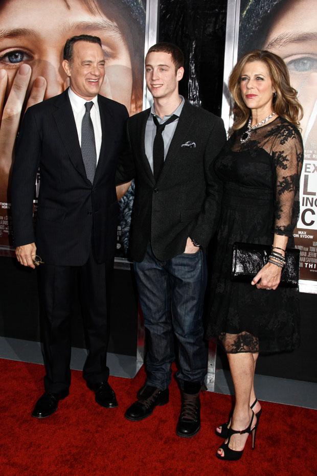 Chet Hanks, Tom Hanks, Rita Wilson