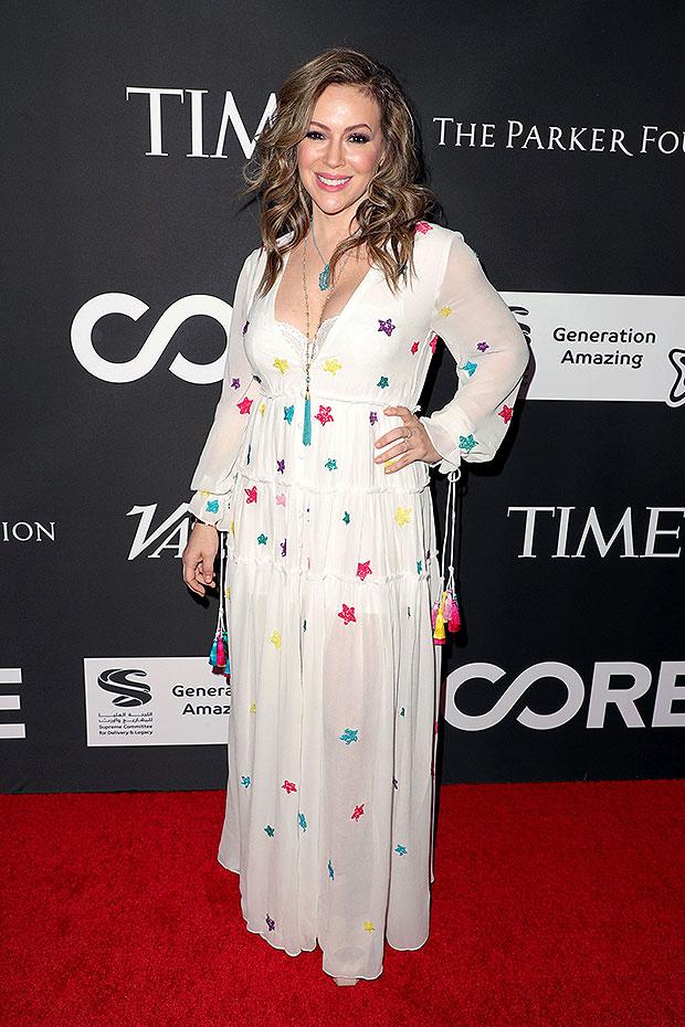 Alyssa Milano Reacts Washed Up Actress