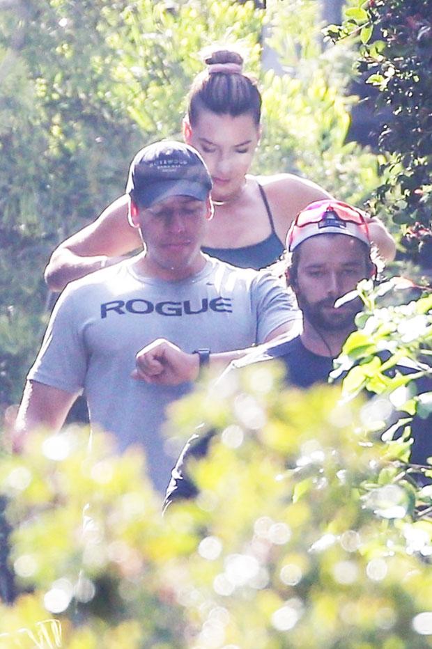 Patrick Schwarzenegger and Joseph Baena