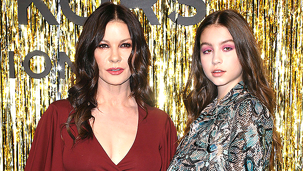 Catherine Zeta-Jones Sends Love To Daughter Carys On 18th Birthday With Gorgeous Swimsuit Pic