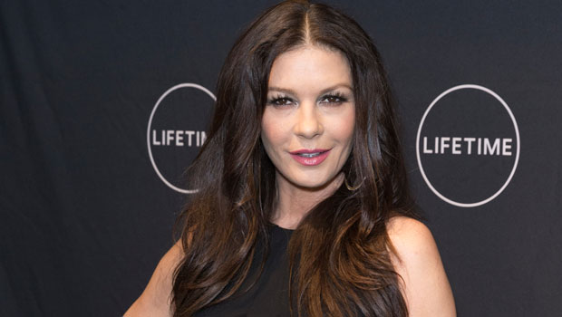 Catherine Zeta-Jones, 51, Models Sexy Outfits While Turning Her Closet Into A Runway — Watch