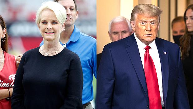 Cindy McCain Donald Trump