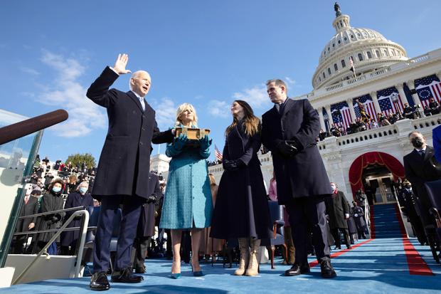 Joe Biden Family Inauguration