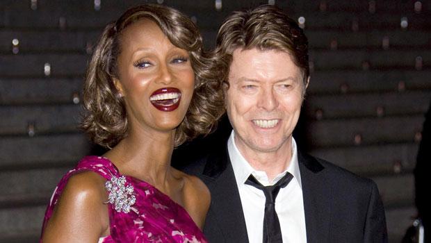 Iman David Bowie Blind RElationship