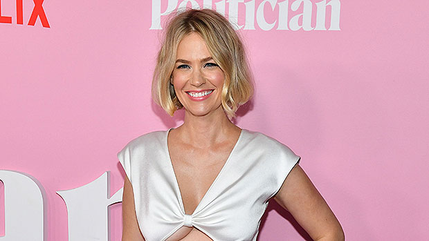 January Jones, 43, Wears Just Sunglasses & Pink Pants As She Jokes She 'Can't Find A Top' — See Pic.jpg