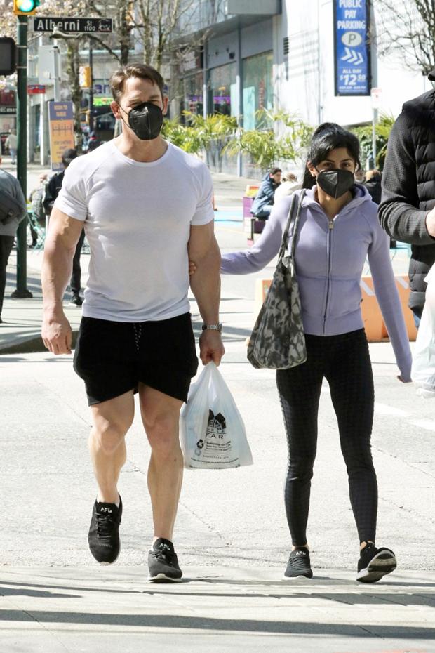 John Cena and wife Shay Shariatzadeh