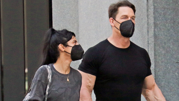 John Cena & Wife Shay Shariatzadeh Hold Hands During Romantic Stroll In Vancouver