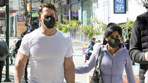 John Cena's Wife Shay Shariatzadeh Sweetly Holds On To Him During Rare Outing — Pic