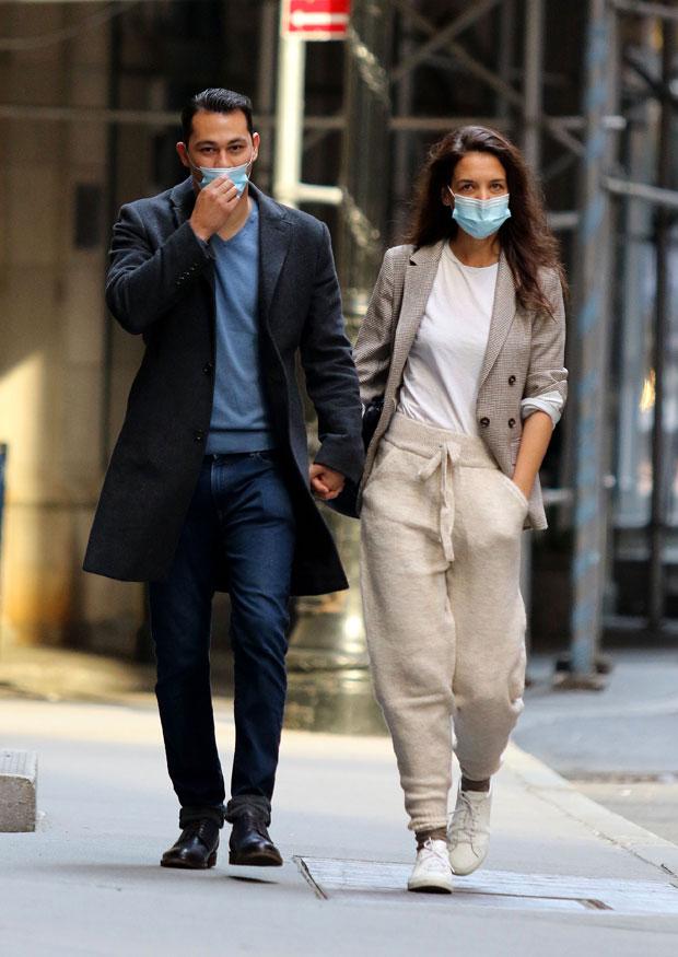 Katie Holmes and Emilio Vitolo Jr.