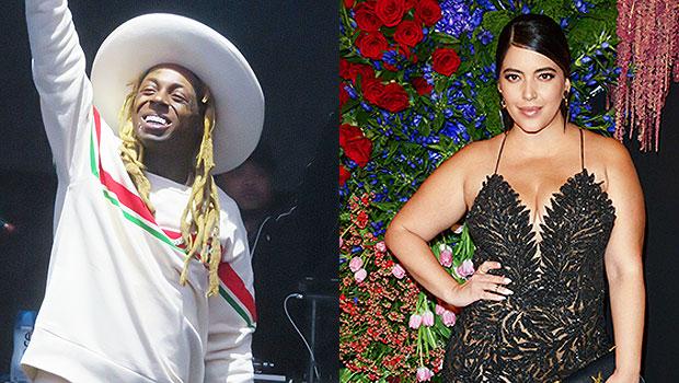 Lil Wayne and Denise Bidot