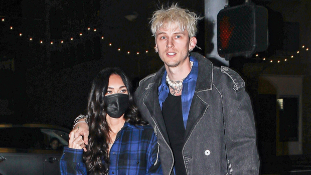 Megan Fox & Machine Gun Kelly Are A Clone Couple In Matching Flannel Looks On Date Night