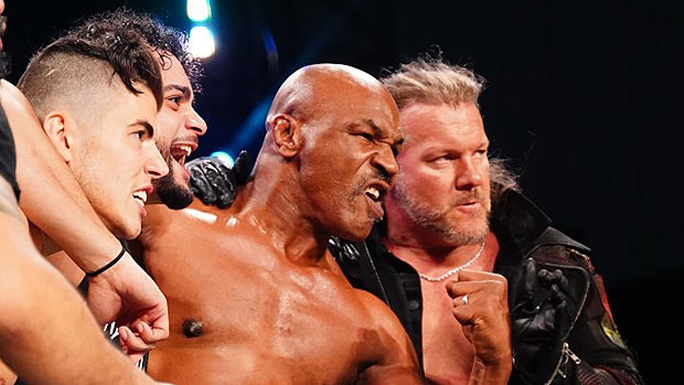 Chris Jericho's Worried Mike Tyson Might 'Knock Me Out' During 'AEW Dynamite': He's An 'X Factor'.jpg