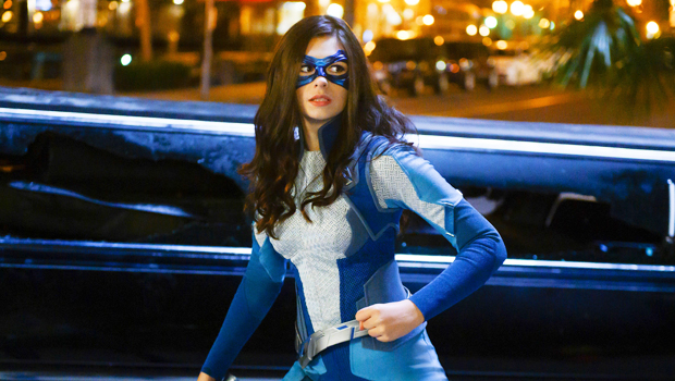 Nicole Maines reacts first trans superhero