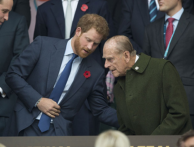 Prince Harry, Prince Philip