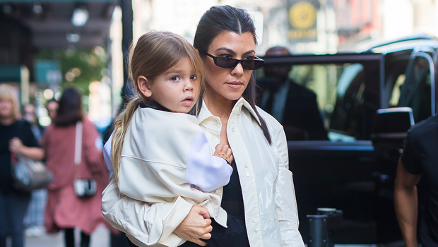 Reign Disick, 6, Is So Cute In His Orange Snowsuit 'Chilling' With Mom Kourtney Kardashian In Utah