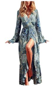 R.Vivimos boho dress