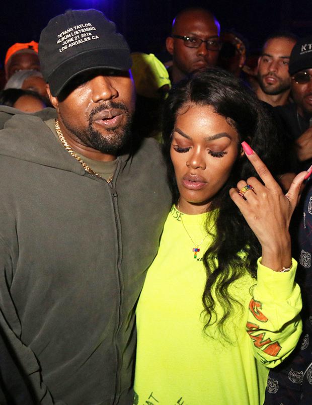 Teyana Taylor Kanye West