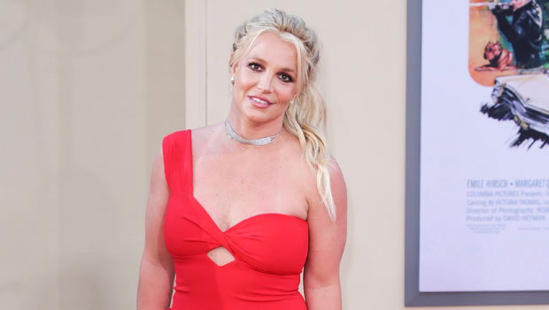 Britney Spears Rocks A Crop Top As She Finally Explains What Her Cryptic 'Red' Clues Mean — Watch