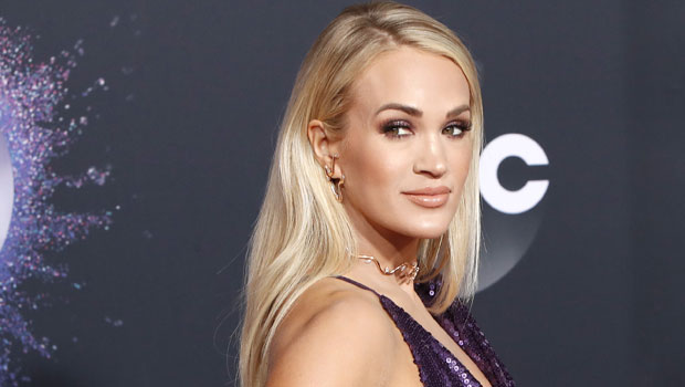 Carrie Underwood, 38, Goes Makeup-Free & Works Out In A Crop Top At The Gym – Pic