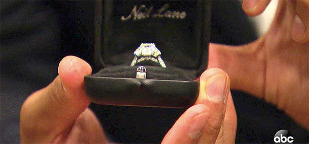 clare crawley engagement ring
