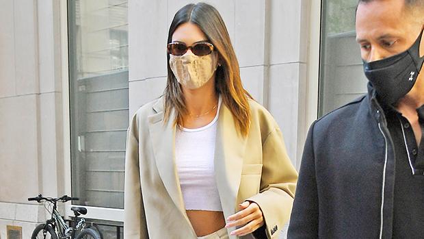 Kendall Jenner in an Oversized Blazer