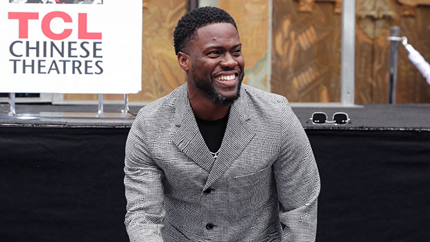 Kevin Hart Cradles Baby Girl Kaori, 6 Mos., In His Arms As He Works From Home: See Sweet Pic