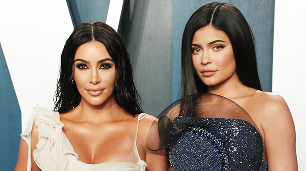 Kylie Jenner & Kim Kardashian Show Up In The Same Red Corset To Dinner: This Was 'Not Planned'.jpg