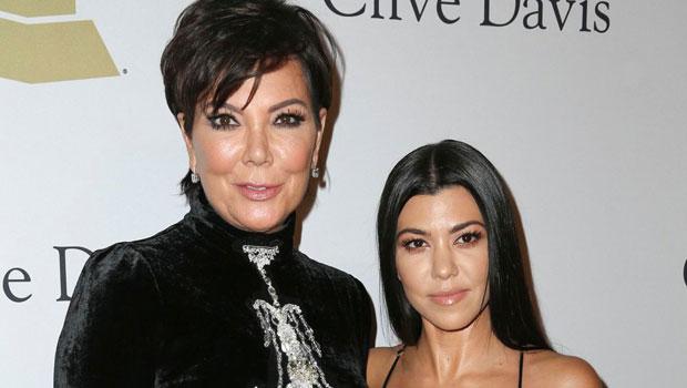 Kris Jenner & Kourtney Kardashian