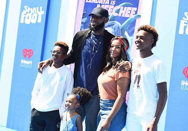 LeBron James' Family