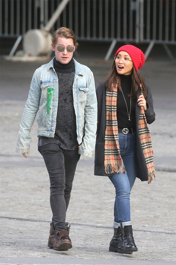 Macaulay Culkin and Brenda Song