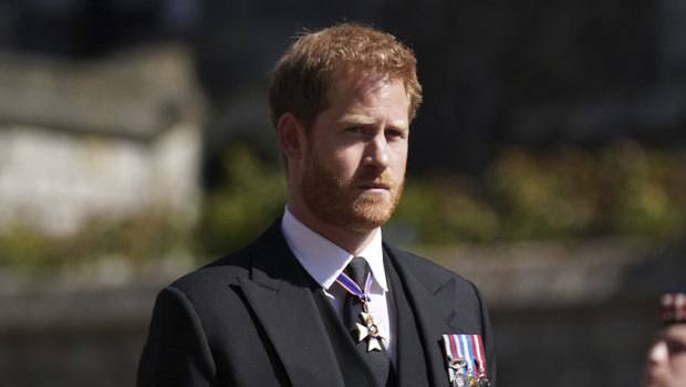 Prince Philip'sFuneral: See Photos of Prince Harry, The Queen, & Royal Family Honoring His Life