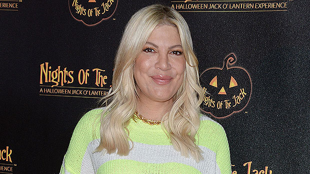 Tori Spelling's Son Accidentally Pees On Her In Spoof Reel About Potty Training & Mom Life – Watch