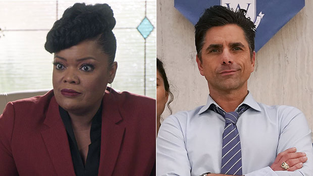 'Big Shot's Yvette Nicole Brown Praises Co-Star John Stamos & Reveals Show Is 'About Second Chances'