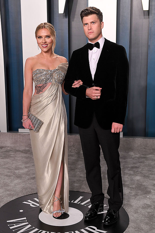Scarlett Johansson, Colin Jost at MTV Movie & TV Awards 2021