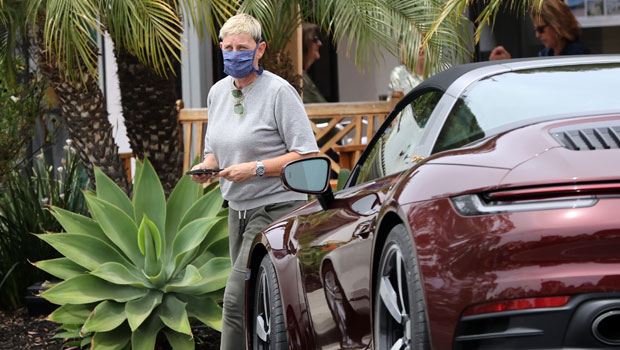 Ellen DeGeneres Cruises Around In $180K Vintage Porsche: See Pics & More Stars In Expensive Cars.jpg