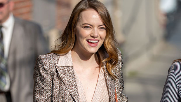 Emma Stone Goes Makeup Free In Jeans & $4K Louis Vuitton Bag For Errand Run 2 Months After Giving Birth