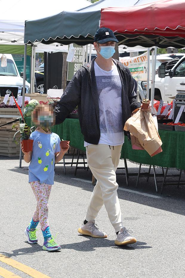 Hayden Christensen & daughter Briar Rose