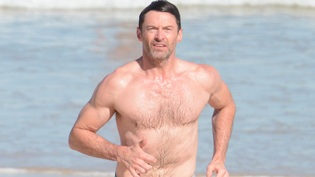 Hugh Jackman, 52, Looks Buff Going For Shirtless Swim In The Hamptons — See Pics.jpg