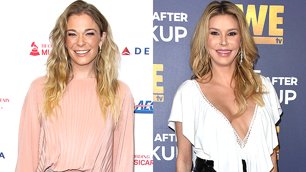 LeAnn Rimes & Brandi Glanville Reunite For Mother's Day: Former Enemies Pose For Family Photo With Eddie Cibrian.jpg