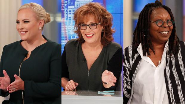Meghan McCain, Joy Behar, Whoopi Goldberg