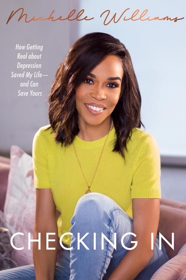 Michelle Williams' book, 'Checking In.'