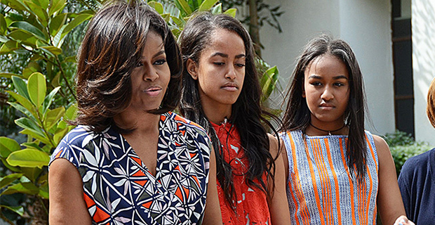 Michelle Obama Admits She Fears For Her Daughters Sasha & Malia Despite Derek Chauvin Verdict