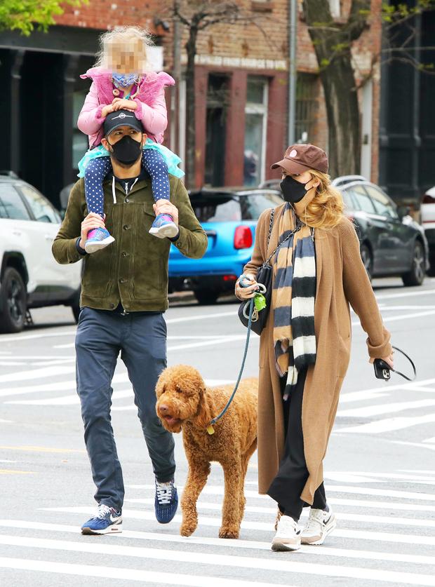 Ryan Reynolds, Blake Lively, Inez Reynolds