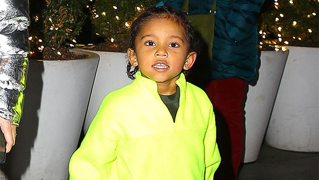 Kim Kardashian's Son Saint West, 5, Models $240 Slides Designed By Dad Kanye: The 'Freshest'
