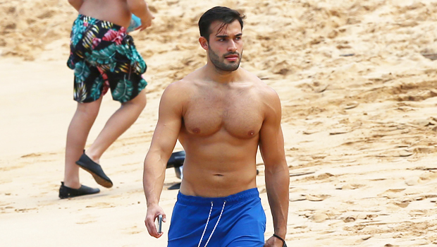 Britney Spears' BF Sam Asghari Spotted Running Solo Shirtless Along The Beach In Maui: See Pic.jpg