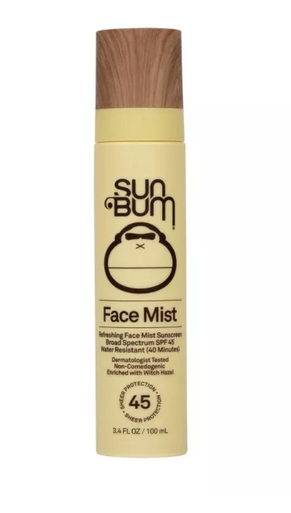 sun bum face mist