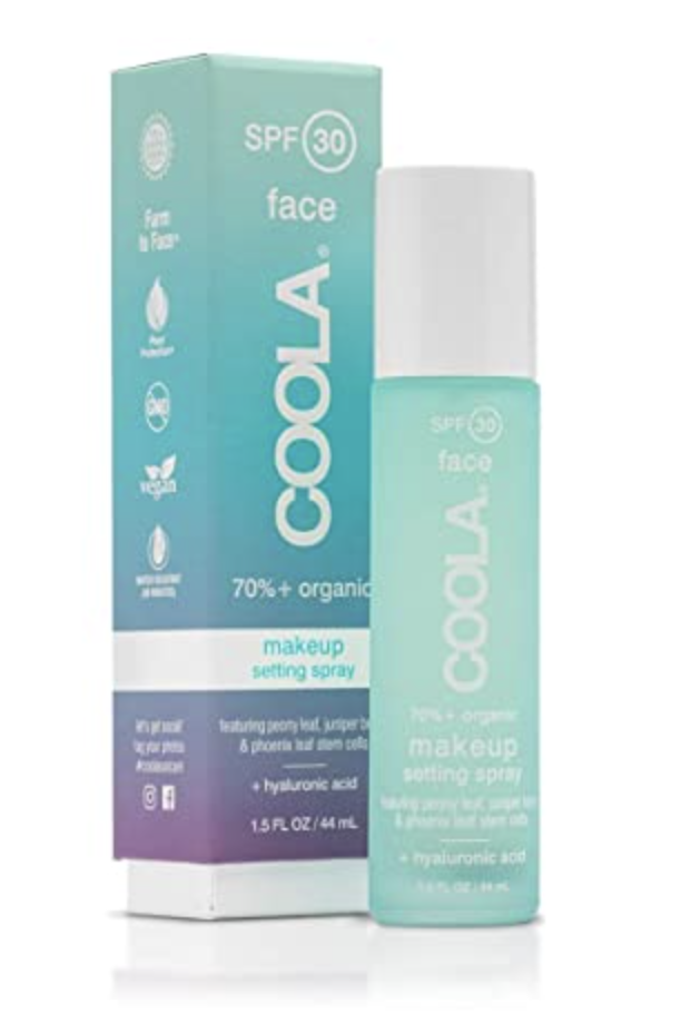 spf makeup setting spray